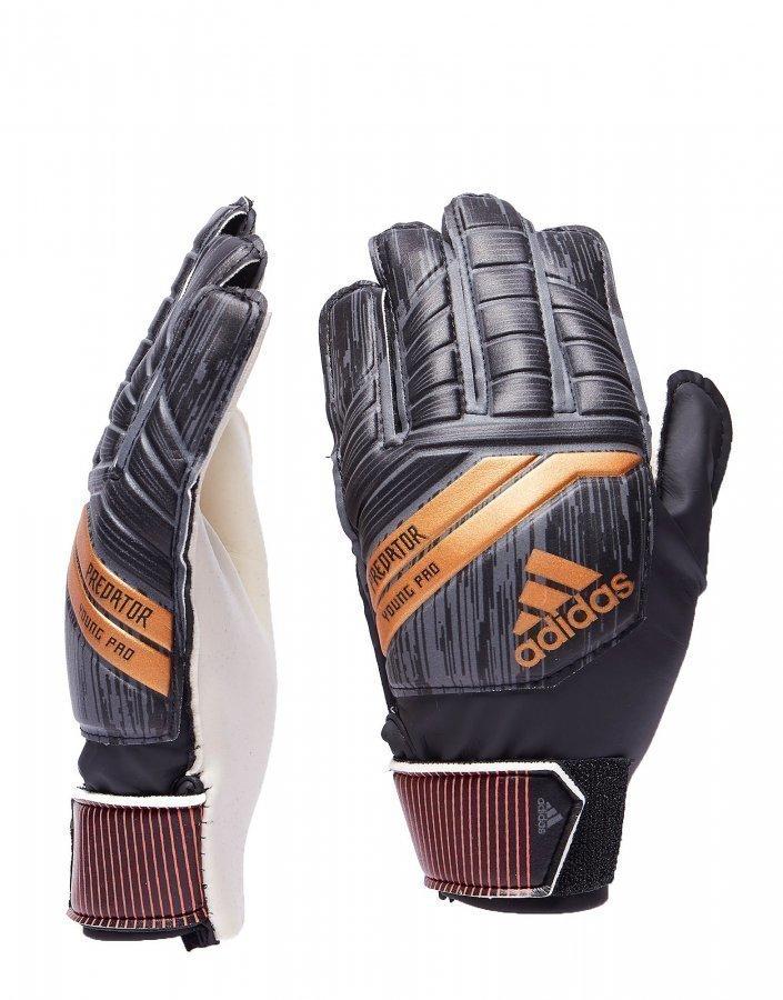 2e61f25dcbc8 Adidas Predator 18 Young Pro Goalkeeper Gloves Musta ...