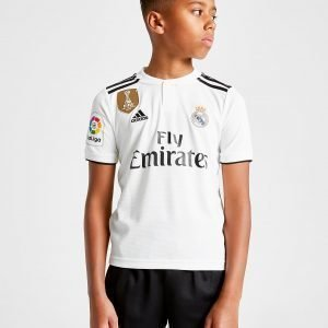 Adidas Real Madrid 2018/19 Bale #11 Home Shirt Valkoinen