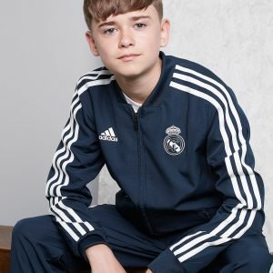 Adidas Real Madrid Presentation Jacket Sininen