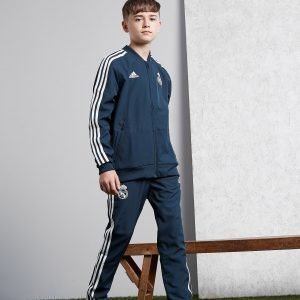 Adidas Real Madrid Presentation Pants Sininen