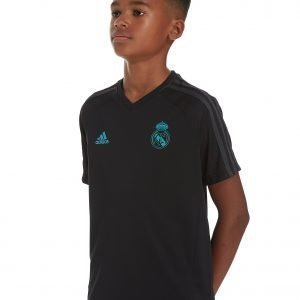 Adidas Real Madrid Training Jersey Musta