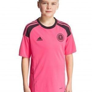 Adidas Scotland 2016 Away Shirt Vaaleanpunainen