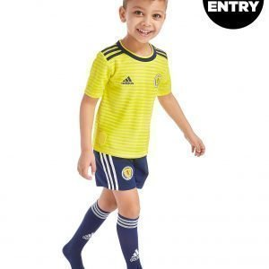 Adidas Scotland Fa 2018/19 Away Kit Keltainen