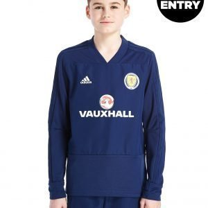 Adidas Scotland Fa 2018/19 Training Top Laivastonsininen