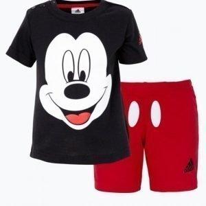 Adidas Set Inf Dy Mic Ss: T-Paita + Shortsit