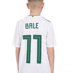 Adidas Wales 2018 Away Bale #11 Shirt Valkoinen