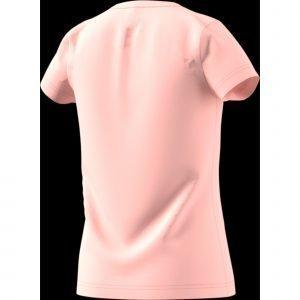 Adidas Yg Logo T-Paita Lasten Pinkki