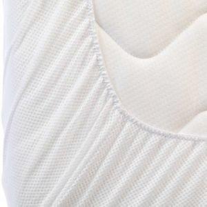 AeroSleep Lakana Juniorisänky 70 x 140 cm Valkoinen
