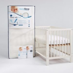 AeroSleep Sleep safe -patjapaketti Natural 60 x 120 cm