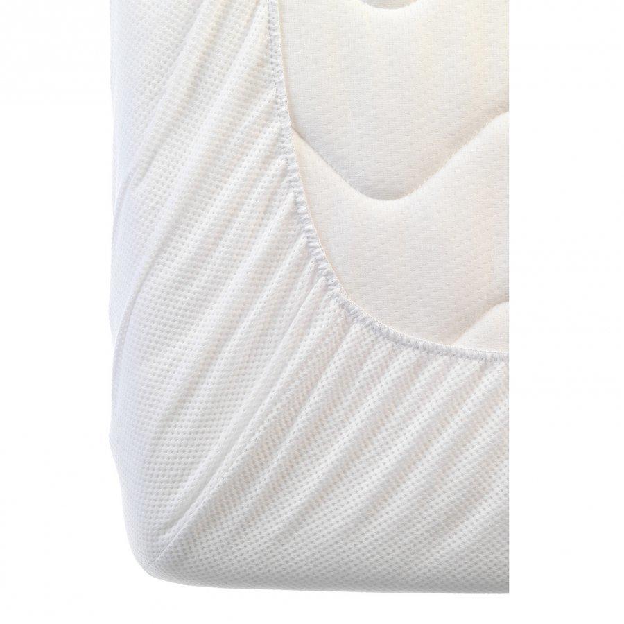 Aerosleep Travelbed Fitted Sheet White 60 X 110 Cm Muotoonommeltu Lakana