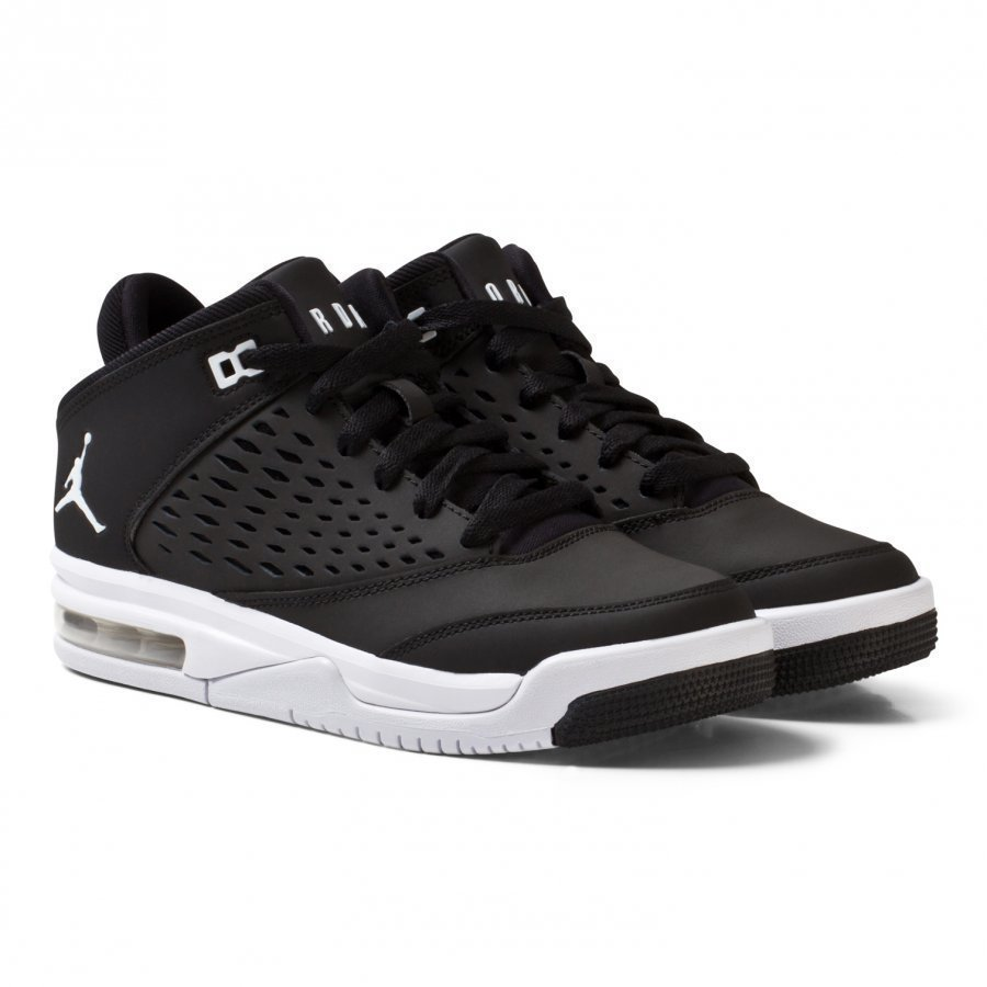 Air Jordan Flight Origin 4 Shoe Black Lenkkarit