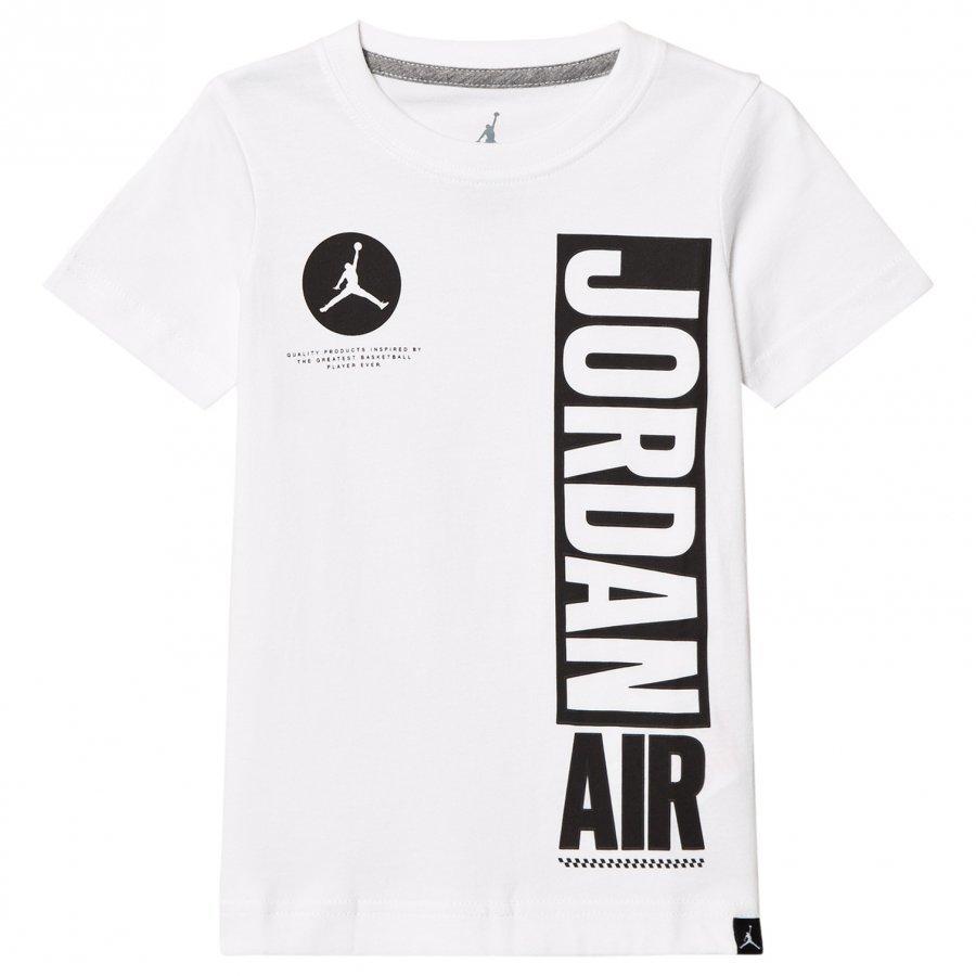 Air Jordan White Jordan Air Branded Tee T-Paita