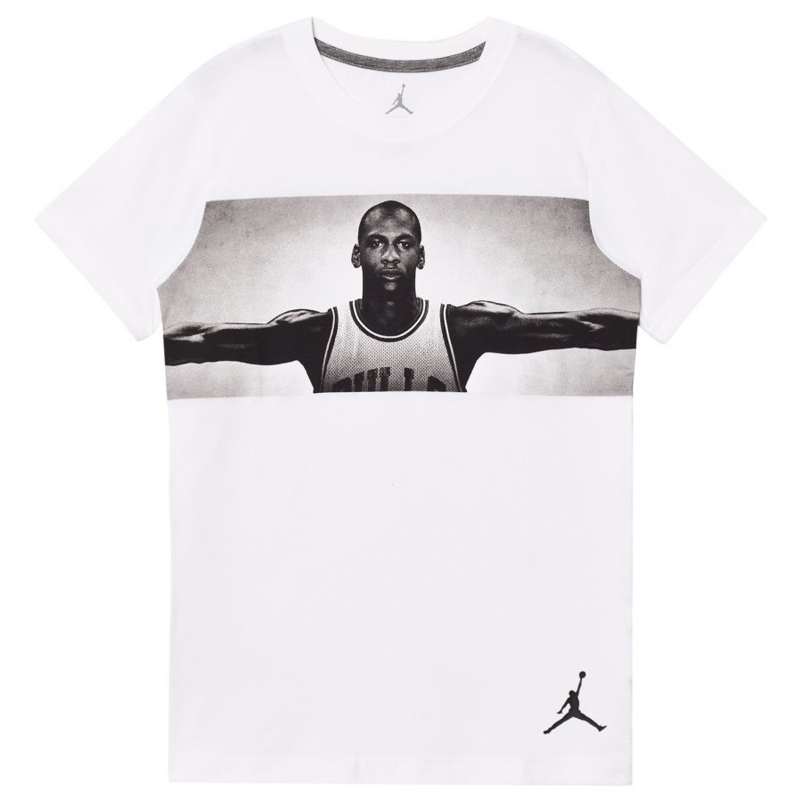 Air Jordan White Wings Tee T-Paita