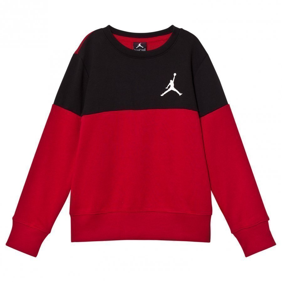 Air Jordan Wing Fleece Sweatshirt Red/Black Oloasun Paita