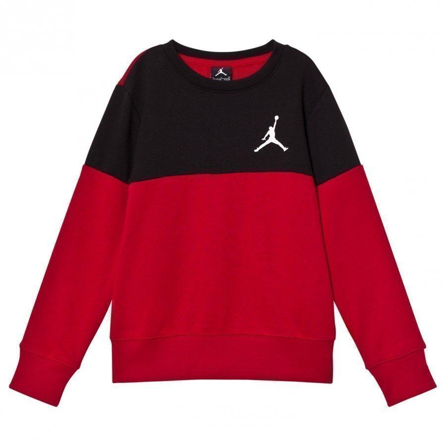 Air Jordan Wing Fleece Sweatshirt Red/Black Oloasun Paita