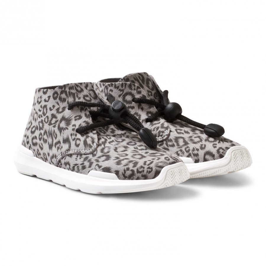 Akid Leopard Remington Hi Top Trainers Korkeavartiset Kengät