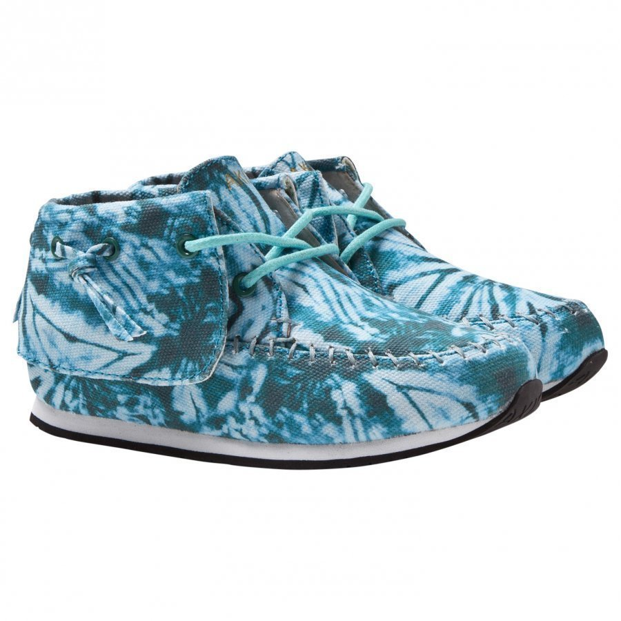 Akid Stone Blue Tiger Camo Canvas Lenkkarit