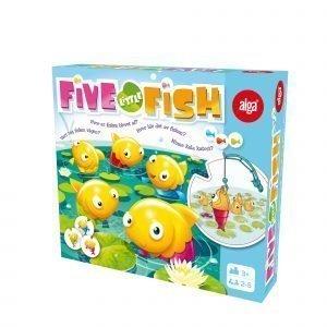 Alga Five Little Fish Muistipeli