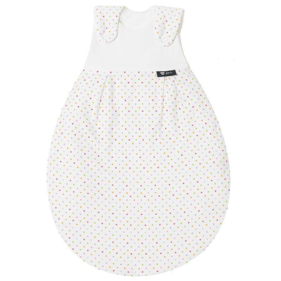 Alvi Baby Mäxchen Unipussin Ulkopussi Puuvilla Jersey Koko 50 / 56 Vaaleat Pilkut