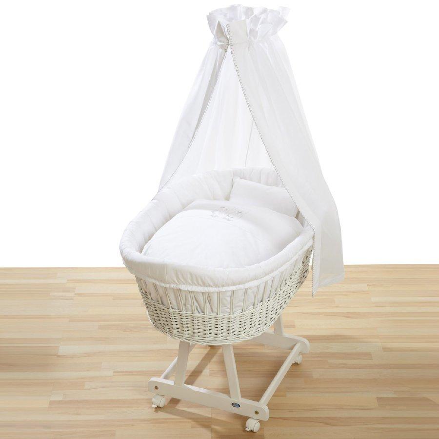 Alvi Vauvan Korisänky Birthe Sänkysetillä Hello Baby Valkoinen 321 0