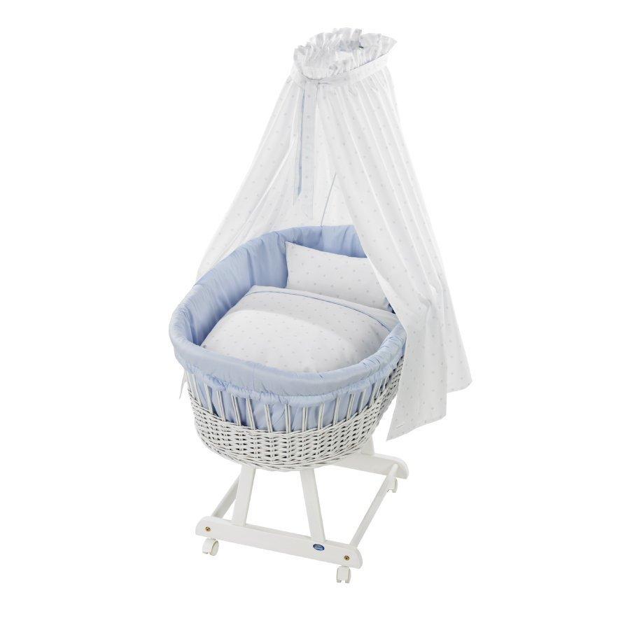 Alvi Vauvan Korisänky Birthe Sänkysetillä Valkoinen Bellybutton Classic Star Blue