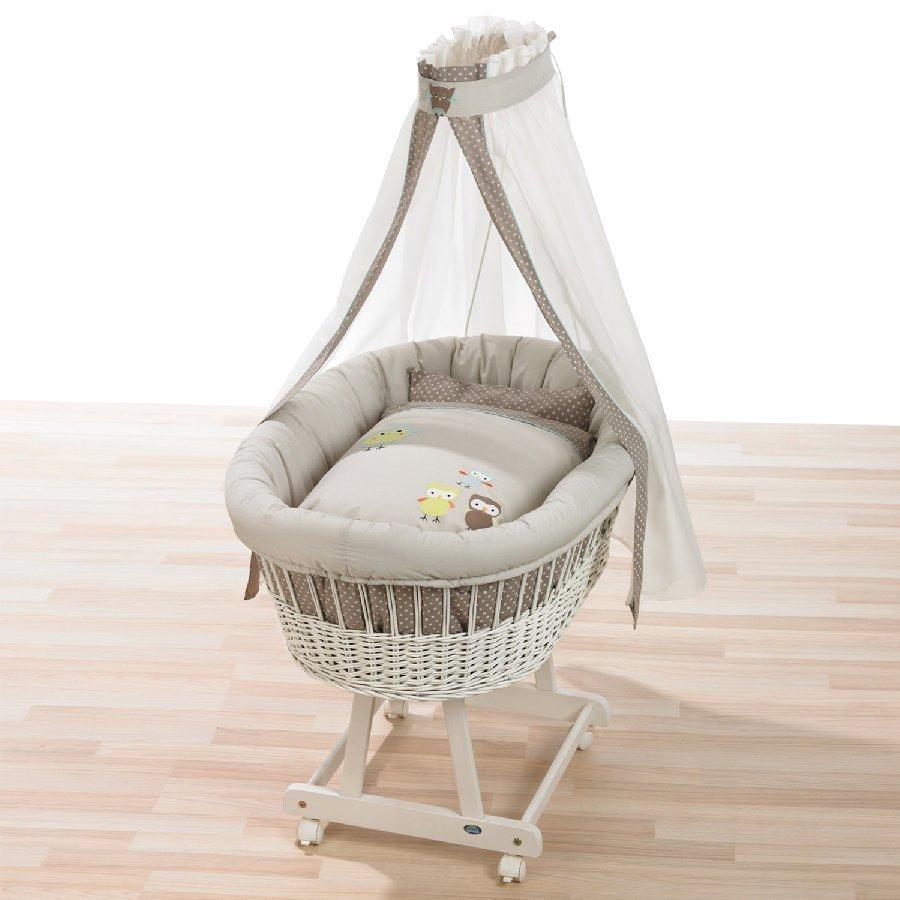 Alvi Vauvan Korisänky Birthe Sänkysetillä Valkoinen Birds 416 6