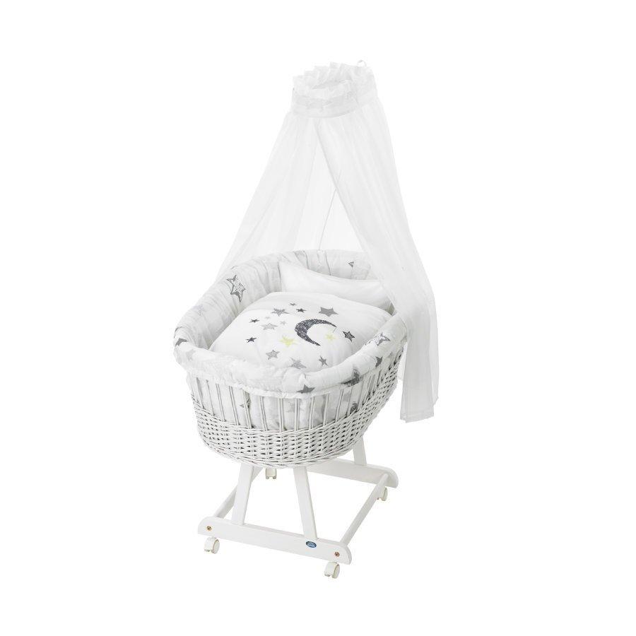 Alvi Vauvan Korisänky Birthe Sänkysetillä Valkoinen Silver Star 786 9