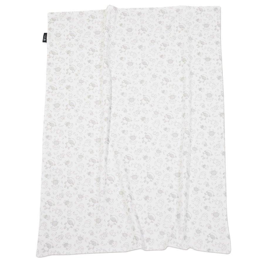 Alvi Vauvan Peitto Jersey 75 X 100 Cm Beige Lampaat