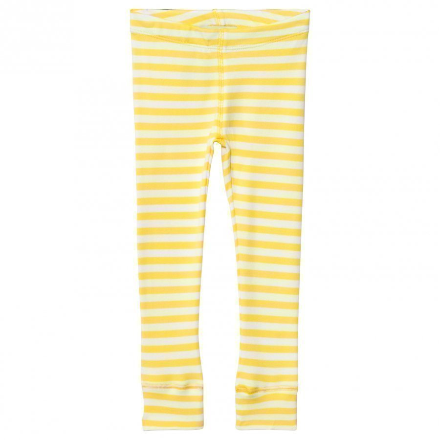 Anïve For The Minors Leggings Happy Yellow/White Stripes Legginsit