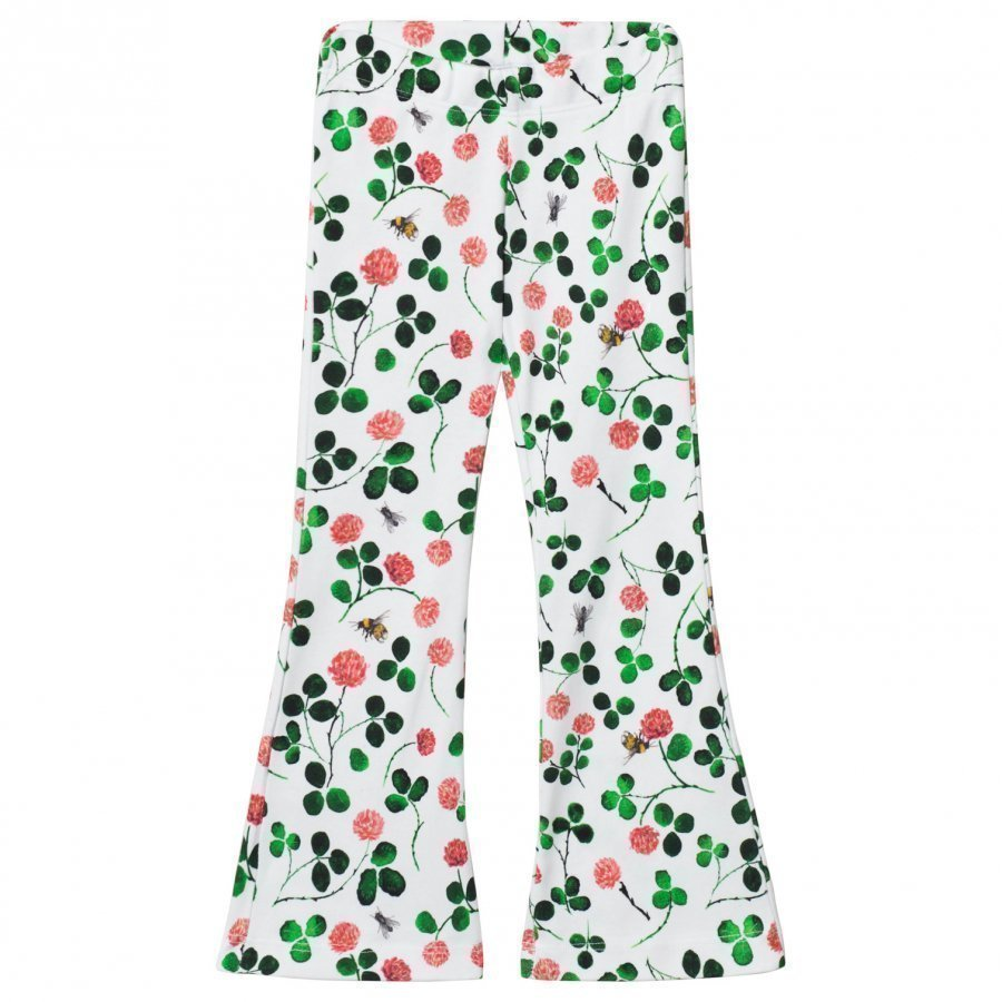 Anïve For The Minors Trousers Clover White/Multi Housut