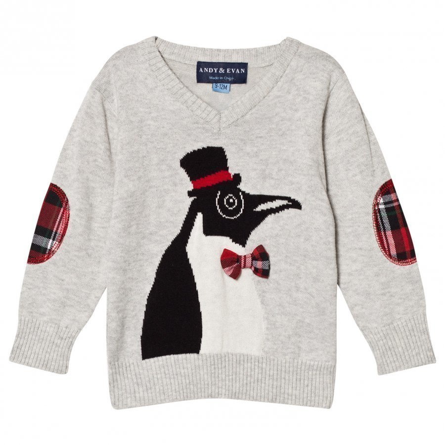 Andy & Evan Christmas Penguin Sweater Oloasun Paita