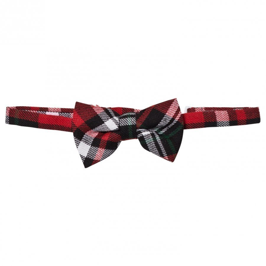 Andy & Evan Christmas Plaid Bowtie Rusettisolmio