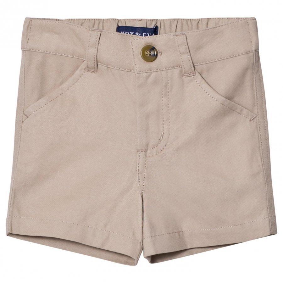 Andy & Evan Khaki Twill Shorts Juhlashortsit