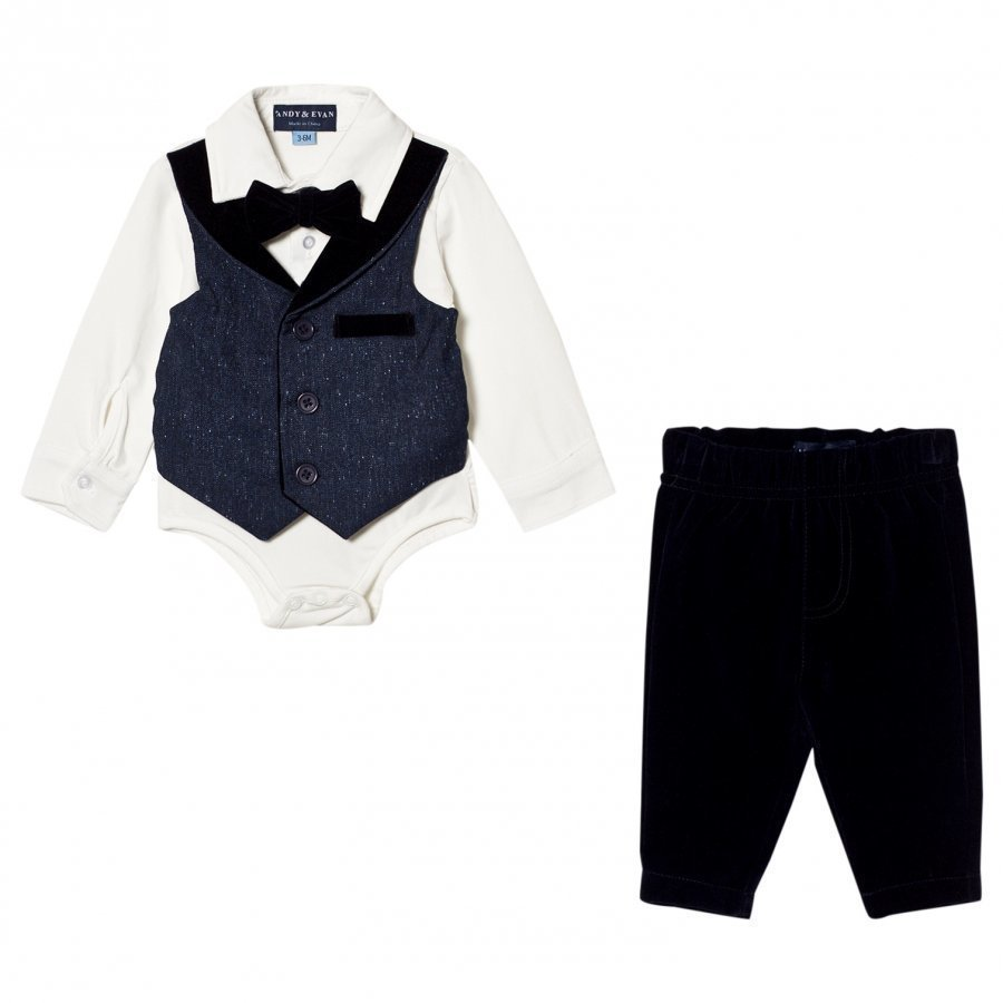 Andy & Evan Navy Playsuit Asusetti