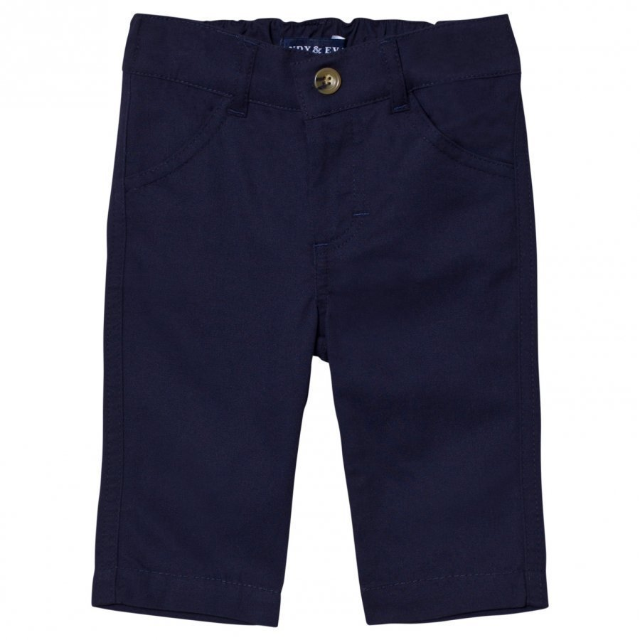 Andy & Evan Navy Twill Pants Chinos Housut