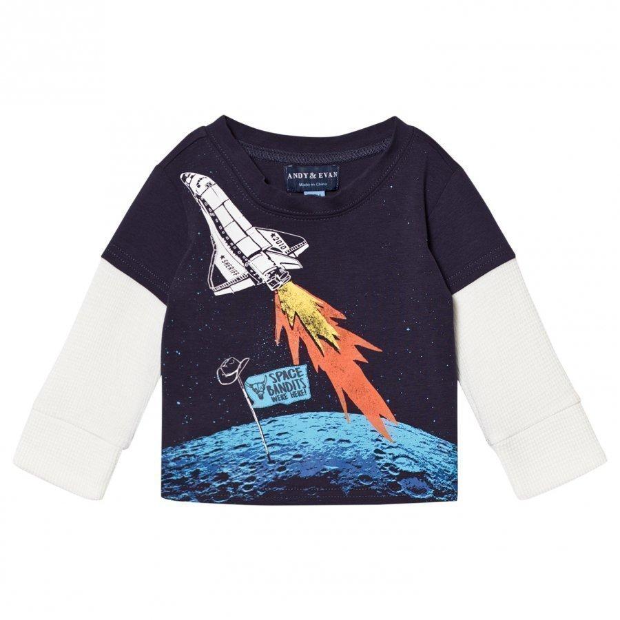 Andy & Evan Space Bandits T-Shirt Pitkähihainen T-Paita
