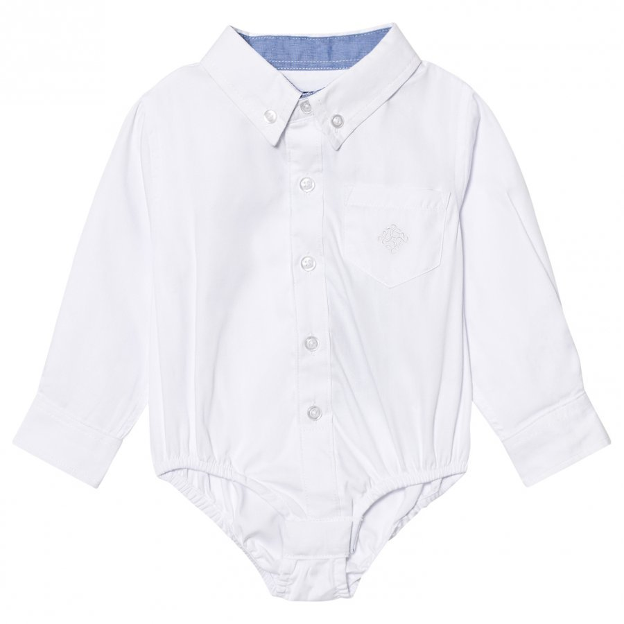 Andy & Evan White Oxford Button Down Shirtzie Kauluspaita