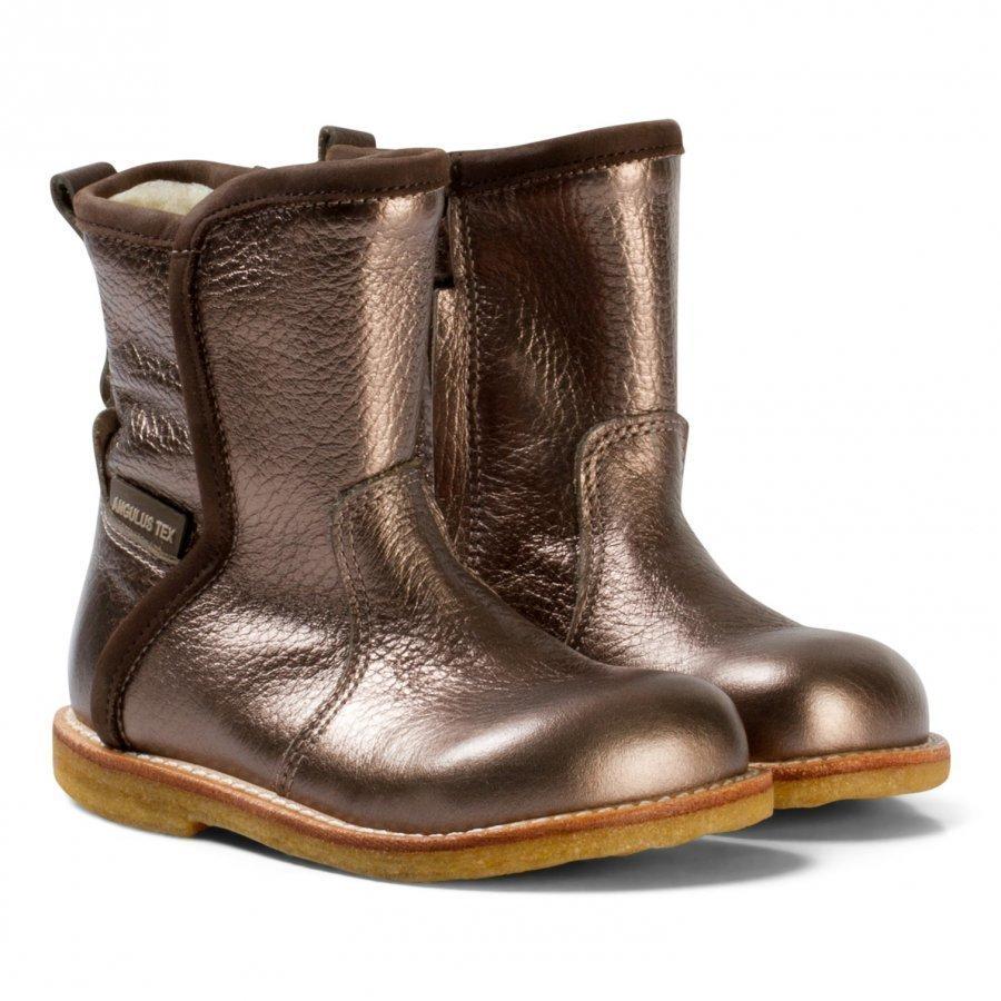 Angulus Bronze Waterproof Boots With Merino Lining Nilkkurit