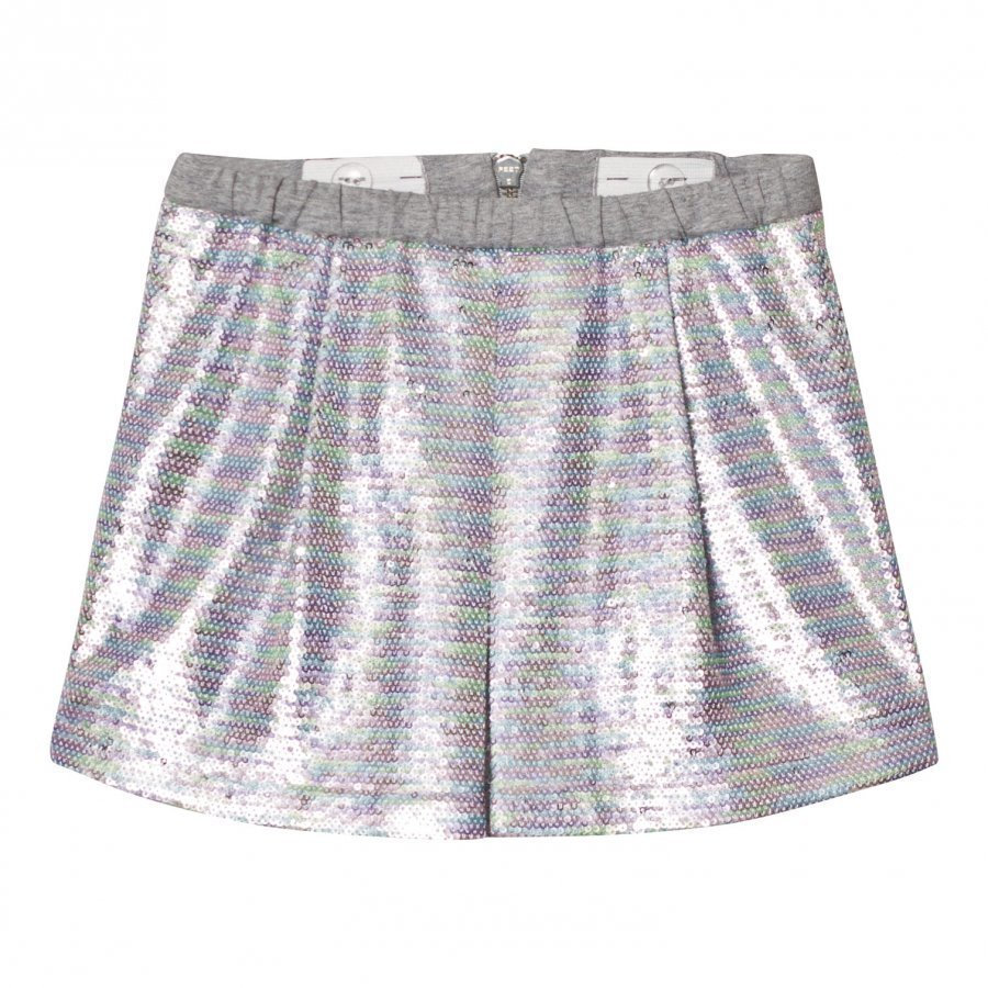 Anne Kurris Pink Multi Sequin Skirt Lyhyt Hame