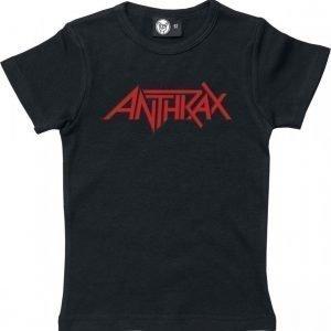 Anthrax Red Logo Lasten Paita