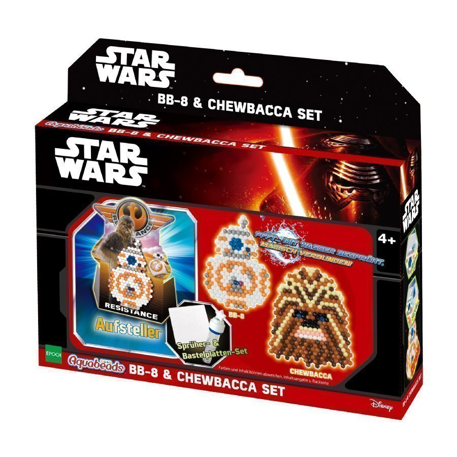 Aquabeads Star Wars Bb 8 & Chewbacca Helmisetti