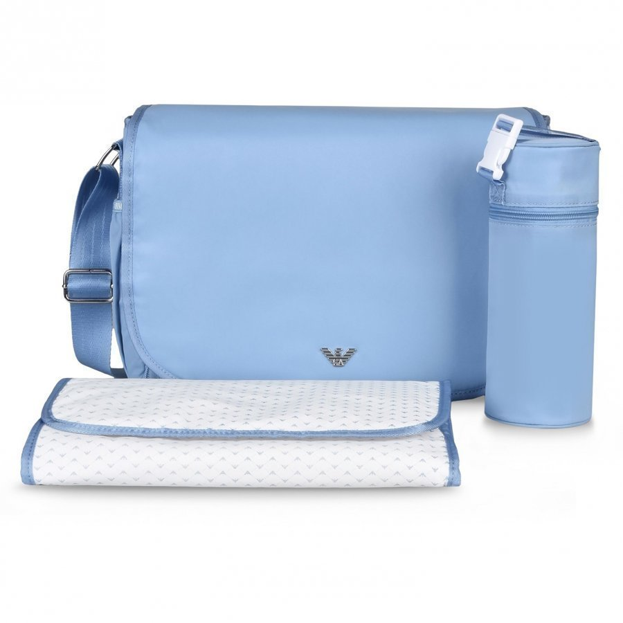 Armani Junior Changing Bag Pale Blue Hoitolaukku