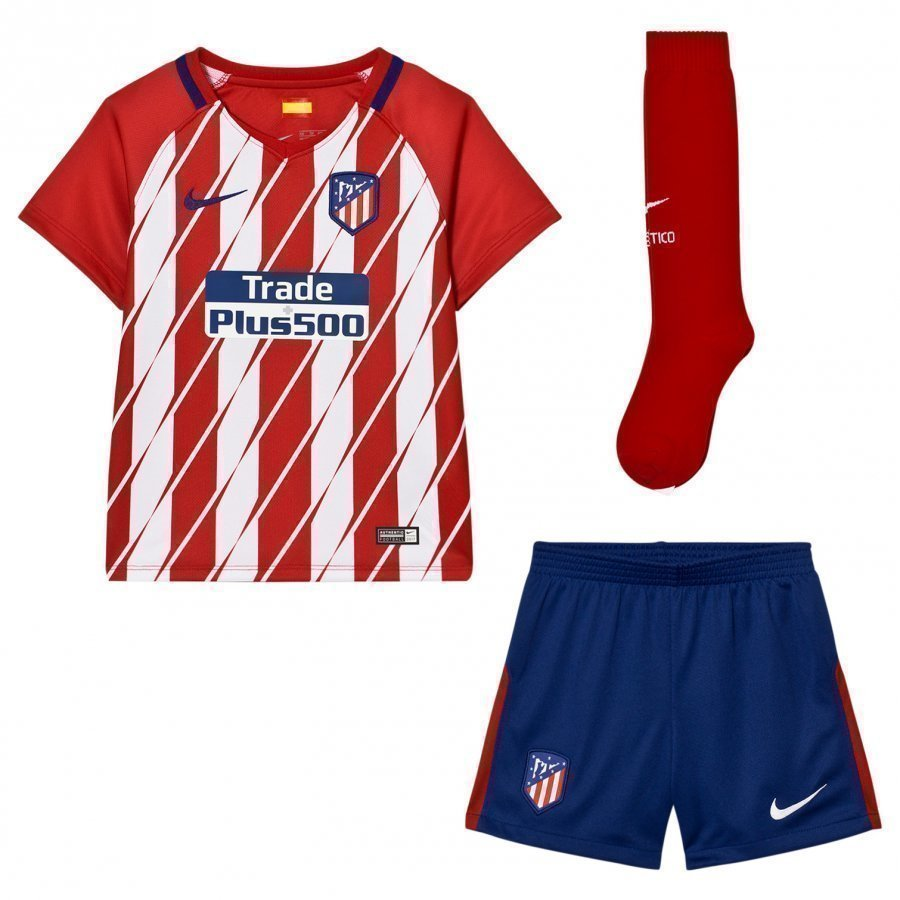 Atletico Madrid Kid's Home Kit Jalkapalloasu