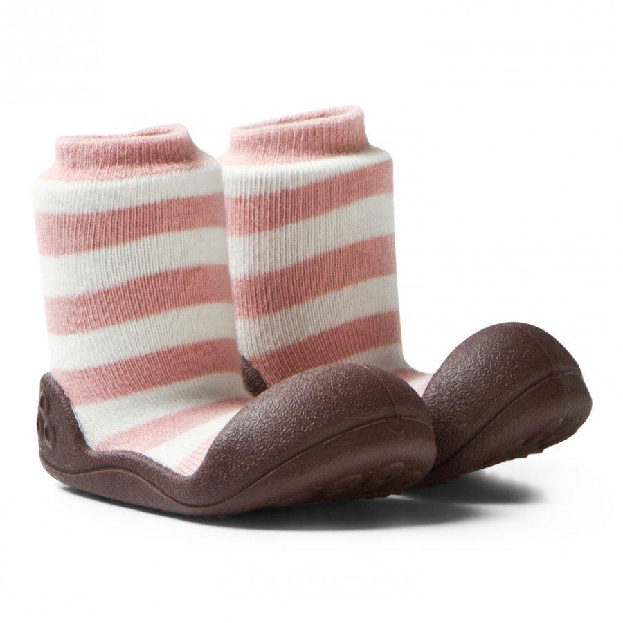 Attipas Natural Herb Pink Shoes Mokkasiinit