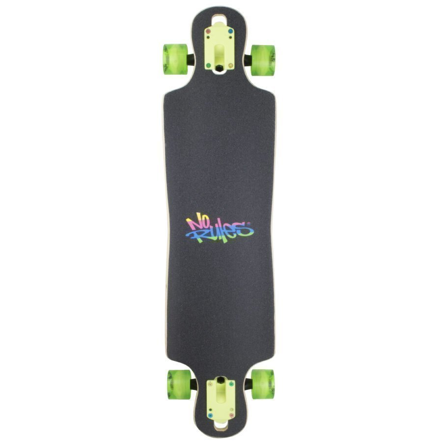 Authentic Sports No Rules Neon Longboard Abec 7