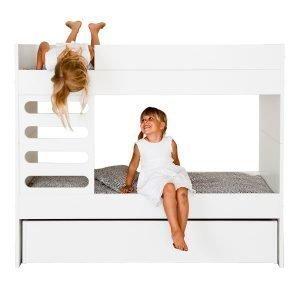 Ava Room Ava Kids Kerrossänky Valkoinen