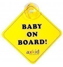 Axkids Varoituskilpi Baby on Board