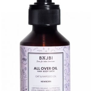 Bäjbi All Over Oil 100 Ml Öljy