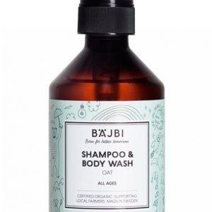 Bäjbi Shampoo & Body Wash 260 Ml Suihkusaippua