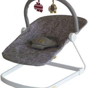BabaBing Sitteri Baby Bouncer Float Harmaa